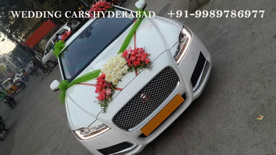 Wedding Car Rental Hyderabad Jaguar Xf Xjl For Rent In Hyderabad Decorated Wedding Car For Rent In Hyderabad
